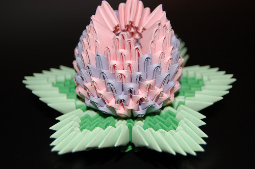3d Origami Lotus Flower Odyssey Of The Mind